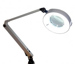 Bench Top Light with Magnifier