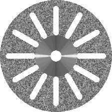 "Diamond Disc ""12 SLOTS"", Double Sided"